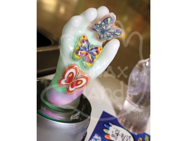 Wax Hands - process